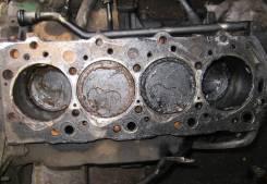 Блок цилиндров. Mitsubishi Pajero, V24WG, V24C, V24V, V24W Двигатель 4D56