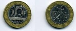 10 франков Франция (иностранные монеты)