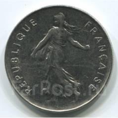 5 франков Франция (иностранные монеты)