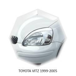 Реснички на фары TOYOTA VITZ 1999-2005г (под покраску)