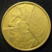 5 франков 1986 Бельгия (иностранные монеты)