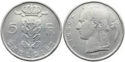 5 франков Бельгия (иностранные монеты)