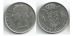 1 франк Бельгия (иностранные монеты)