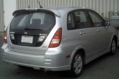 Стекло заднее. Suzuki Aerio, RD51S Suzuki Liana
