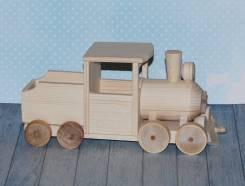 Модели паровозов.