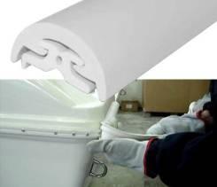 Торцевая накладка для привальных брусьев L32/L35/Radial 40, белая