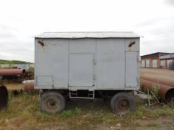 2ПТС-4. Продам тракторный прицеп с будкой