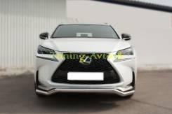 Защита бампера. Lexus NX200t, AGZ15, AGZ10 Lexus NX200, ZGZ10, ZGZ15 Двигатели: 8ARFTS, 3ZRFAE. Под заказ
