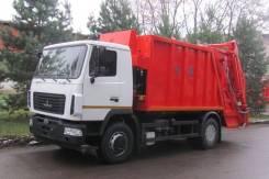 Коммаш. Мусоровоз КО-427-34 с порталом