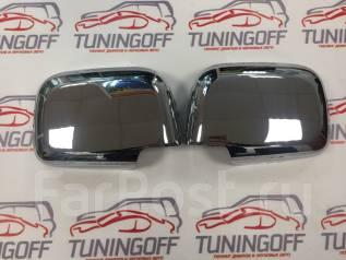 Накладка на зеркало заднего вида боковое. Toyota Hilux Surf, KDN185, KDN185W, KZN185, KZN185G, KZN185W, RZN185, RZN185W, VZN185, VZN185W Двигатели: 1K...
