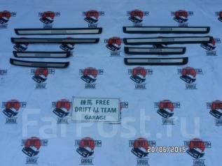 Накладка на порог. Toyota Chaser, JZX100, SX100, GX100, LX100