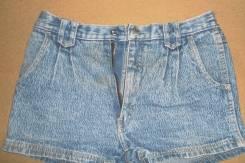 Шорты джинсовые. Рост: 140-146, 146-152 см