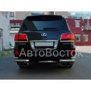 Защита бампера. Lexus LX570, URJ201 Двигатель 3URFE. Под заказ