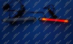 Неоновые катафоты в бампер Lexus NX200, NX200t, NX300h (Лексус) Белые