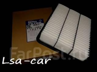 Фильтр воздушный. Toyota: Hilux Surf, Tundra, 4Runner, GX470, Land Cruiser, Land Cruiser Prado, Sequoia Lexus LX470, UZJ100 Lexus GX470, UZJ120 Двигат...