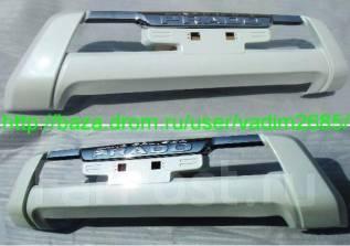 Накладка на бампер. Toyota Land Cruiser Prado, GDJ150L, GRJ151, GDJ150W, GRJ150, GRJ150L, GDJ151W, KDJ150L, GRJ150W, GRJ151W, TRJ150W. Под заказ