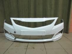 Бампер передний оригинал Hyundai Solaris NEW 2015 (рестайлинг)