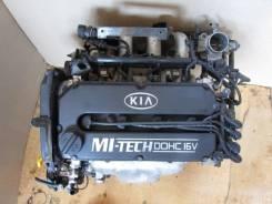 Двигатель в сборе. Kia Sephia