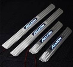 Накладка на порог. Toyota Allion, ZZT245, ZRT265, NZT260, ZRT260, ZZT240, NZT240, AZT240