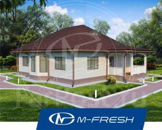 M-fresh Legend-зеркальный. 100-200 кв. м., 1 этаж, 4 комнаты, бетон