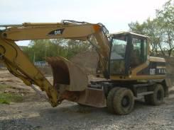 Caterpillar. Экскаватор 0,85 куб. м. Катерпиллер М-315 на колёсном ходу, 12 000 куб. см., 0,85куб. м.