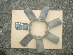 Вентилятор охлаждения радиатора. Nissan Atlas, TF22 Двигатель TD23