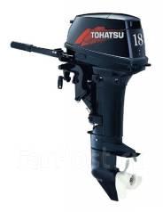 Tohatsu. 18,00л.с., 2-тактный, бензиновый, нога S (381 мм), 2016 год год. Под заказ