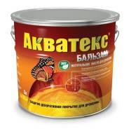 Акватекс Бальзам – экологически чистое масло для древесины