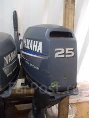 Yamaha. 25,00л.с., 2х тактный, бензин, нога L (508 мм), Год: 2001 год