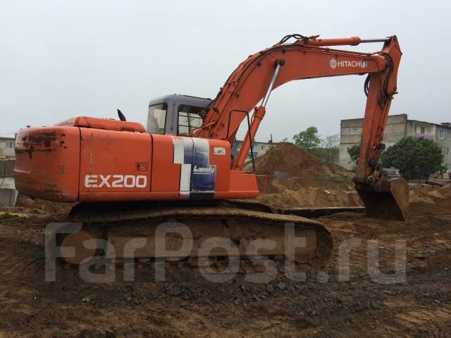 Hitachi EX200. Продам экскаватор с гидромолотом, 0,80куб. м.