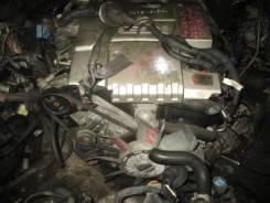 Двигатель. Mitsubishi Pajero, V25W Двигатель 6G74