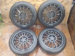 Продам отличные колеса R17 с Galant/Legnum. 7.5x17 5x114.30 ET38