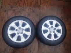 Продам пару отличных колес R15 с Mark II. 6.5x15 5x114.30 ET0