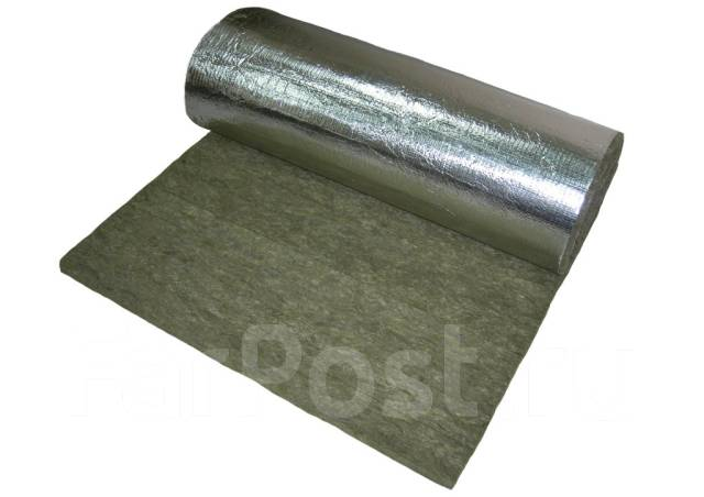 Огнезащитный базальтовый рулонный материал МБОР-10Ф (толщ. 10 мм., дл. 16 м., шир. 1,5 м)