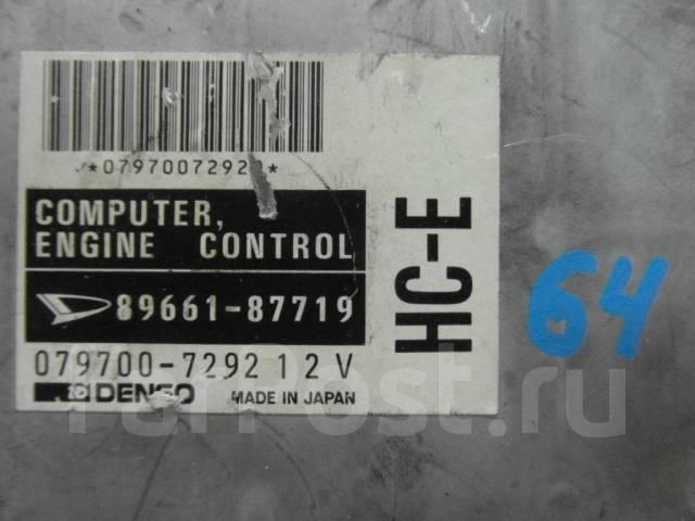 Блок управления двс. Daihatsu Charade Social Daihatsu Charade, G200S Двигатель HCE