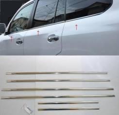 Накладка на боковую дверь. Toyota Land Cruiser Prado, GDJ150L, KDJ150L, TRJ150W, TRJ150, GDJ150W, GRJ150, GRJ150W, GRJ150L Двигатели: 1GDFTV, 1KDFTV...