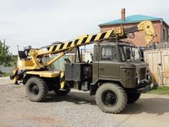 ГАЗ 66. ГАЗ-66 с буровой установкой, 4 200 куб. см., 2 500 кг.