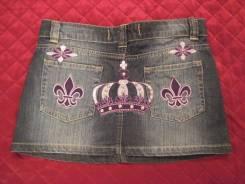 Юбки джинсовые. Рост: 146-152, 152-158, 158-164 см