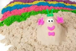 Кинетический песок.