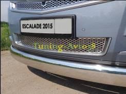 Молдинг решетки радиатора. Cadillac Escalade