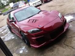 Обвес кузова аэродинамический. Mazda RX-8, SE3P