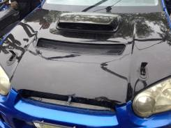 Капот. Subaru Impreza WRX STI, GGB, GDB
