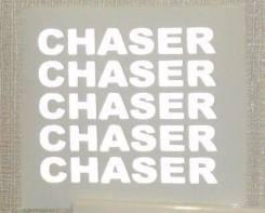 Наклейка. Toyota Chaser