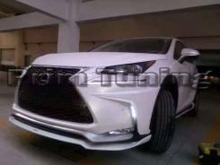 Обвес кузова аэродинамический. Lexus NX200t. Под заказ