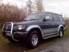 Задняя часть автомобиля. Mitsubishi Pajero, V73W, V23C, V43W, V24V, V45W, V24W, V46W, V24WG, V46V, V26WG, L043G