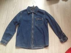 Рубашки джинсовые. Рост: 122-128 см