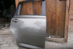 Дверь задняя L, R в сборе цвет 1g2. Toyota Ractis, NCP100, SCP100, NCP105