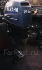 Yamaha. 25,00л.с., 4х тактный, бензин, нога L (508 мм), Год: 2002 год