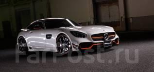 Обвес кузова аэродинамический. Mercedes-Benz AMG GT. Под заказ
