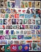 Большой набор марок СССР 1963г., ок. 90шт.